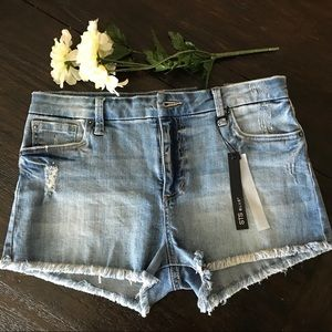 STS Blue Denim Cut-Off Shorts